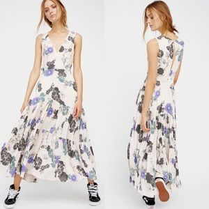 Free People Sure Thing Printed Maxi Dress
